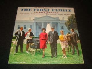 Vintage The First Family Vinyl Record Vaughn Meader Comedy