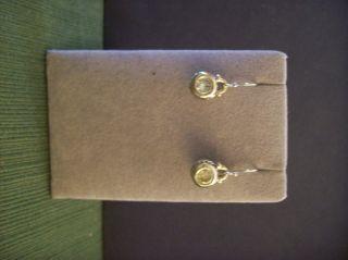 John Medeiros Jewelry Oval Link Collection Earrings Peridot Green