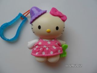 2000 McDonalds Hello Kitty Keychain Figure Doll Very Collectible