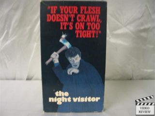 Night Visitor The VHS Max Von Sydow Liv Ullman