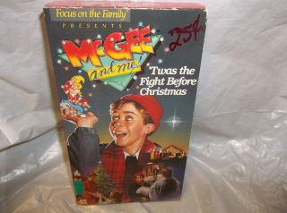 McGee and Me Twas The Fight Before Christmas Time VHS Video Tape