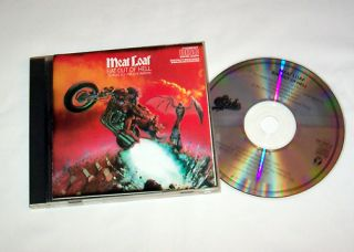 MEAT LOAF Bat Out of Hell CD Classic 1977 Album Paradise by the
