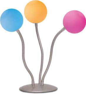 Medusa 3 Ball Color Changing Lamp Great Room Decor New