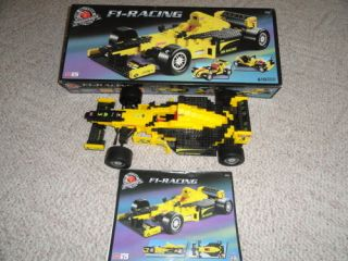 Mega Bloks Pro Builder Series Collector F 1 Racing 9755 Cool Car
