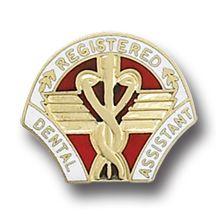 Registered Dental Assistant Medical Emblem Pin 5040