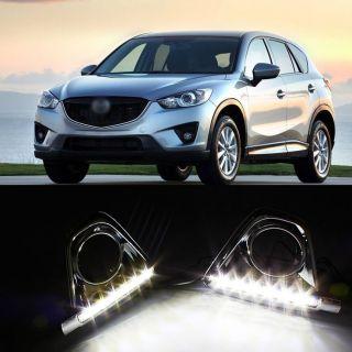 Quality Chrome DRL LED Daytime Running Lights DRL for 2012 Mazda CX 5