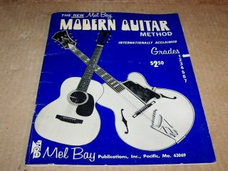 Mel Bays Modern Guitar Method Grade 1 Book