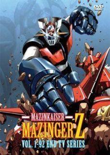 Mazinger Z Complete DVD (TV 1   92 end) DVD (Mazinga Z) (Tranzor Z