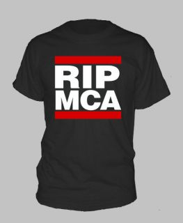 Rip MCA T Shirt Beastie Yauch Hip Hop Rap Boys Adam All Sizes and