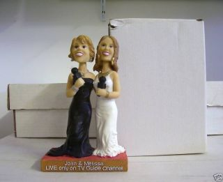 Joan and Melissa Rivers TV Guide Bobble Bobblehead SGA