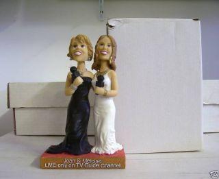 Joan and Melissa Rivers TV Guide Bobble Bobblehead SGA