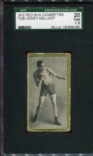 1910 T226 Red Sun Honey Mellody SGC 20