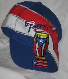 Puerto Rico  Adjustable Baseball Cap Hat