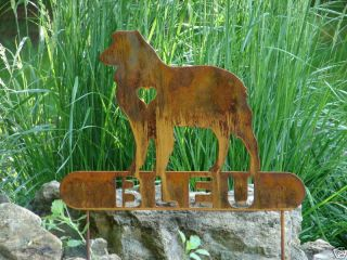 Shepherd Pet Dog Memorial Garden Yard Lawn
