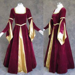 Medieval Renaissance Gown Dress Costume LARP Wedding 2X