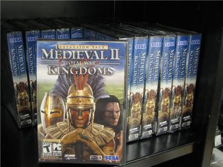 Medieval II Total War Kingdoms Expansion PC Game Factory Sealed US