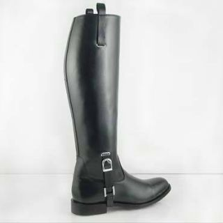 DG Men Buckle Dress Tall Horse Riding Boots Semi Custom