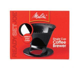 Melitta Ready Set Joe Single Cup Coffee Brewer 64007