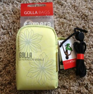 Golla G984 Digital Camera Bag Spring Light Lime New