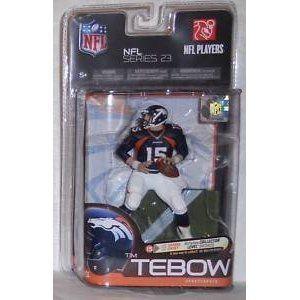 Tim Tebow McFarlane NFL Action Figure Series 23 Denver Broncos Navy