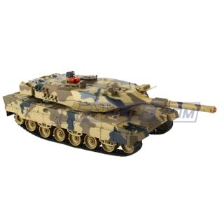 RC Infrared Remote Control Battle Tank 1 18 Scale 27 MHz Radio Control