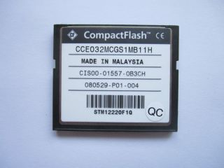 Original Cisco 32MB Compact Flash CF Card Memory Card