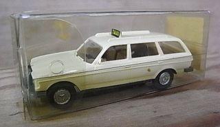 Die Cast Plastic Taxi Mercedes Benz 260 E Model Toy Car German