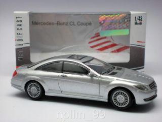 Mondo 1 43 Diecast Model Car Mercedes Benz CL Coupe New