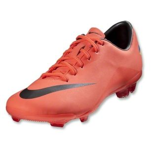 Nike Mercurial Vapor VIII FG Kids Cleats Bright Mango Metallic Dark