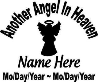 Memory Of Another ANGEL In Heaven Memorial car truck diesel cummins