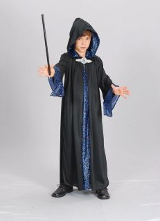 Wizard Merlin Robe fancy dress up BNIP 9 12yrs Boys Girls Kids Costume