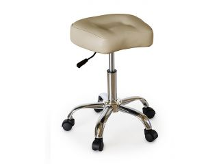 Tattoo Beauty Salon Furniture Facial Medical Doctor Nail Stool Ivory