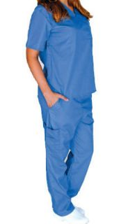 Medical Scrubs Set Natural Uniforms XS s M L XL 2XL 3XL Unisex Cargo