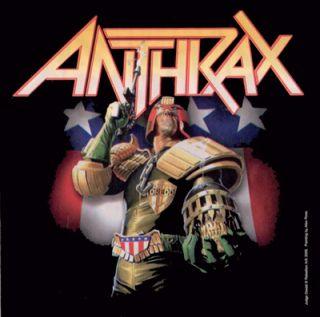 Hard Rock Heavy Thrash Metal Band Judge Dredd Logo Group Decal