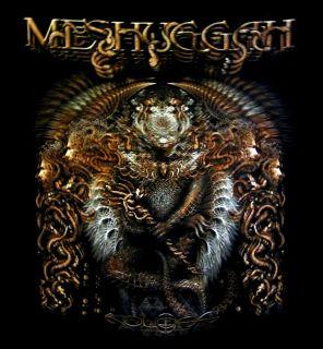Meshuggah CD cvr Koloss 2012 Tour Official Shirt XL New