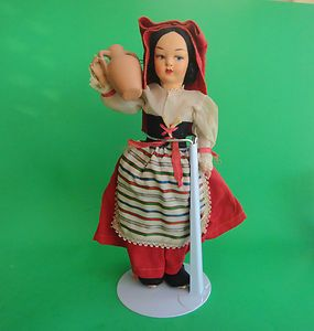 Nice Vintage Eros Florence Messina Doll Made in Italy