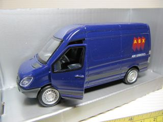 Dickie abx Logistics Mercedes Benz Sprinter Van Diecast