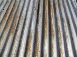 Reclaimed Metal Roofing Corrugated Panels Rustic Coating