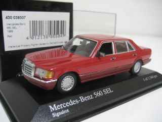 Minichamps 1 43 1989 Mercedes Benz 560 Sel