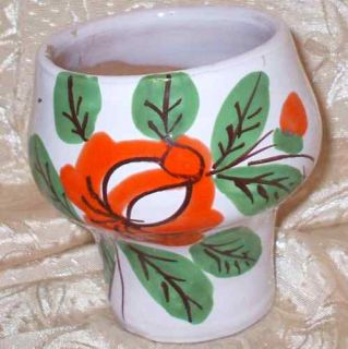 Melrose Red Clay Art Pottery Italy Planter Vase Floral