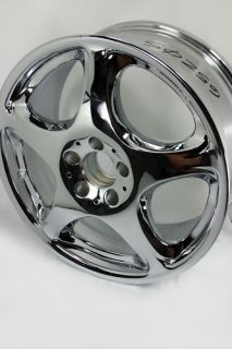 Chrome 2000 Mercedes Benz s Class 18x8 Wheels 65205 2204012702