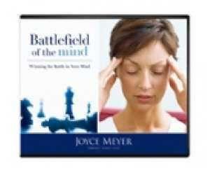 Battlefield of The Mind Joyce Meyer 4 CDs New
