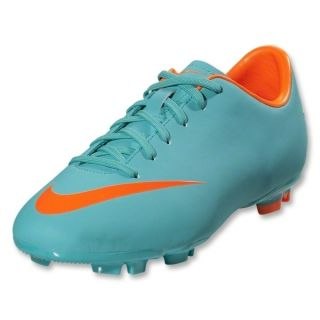 Nike Junior Mercurial Victory III FG Soccer Cleat Retro Turquoise
