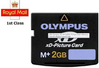 2GB XD Memory Card Type M XD Picture Card Olympus Fuji