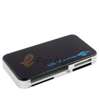 USB 3 0 Multi Memory Card Reader 5Gbps Compatible TF CF MS XD SDHC
