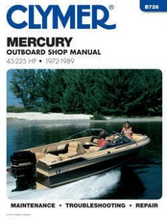 Mercury Outboard Boat Engine Shop Service Repair Manual 50 75 90 115
