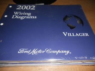 2002 Mercury Villager Wiring Electrical Diagrams Manual