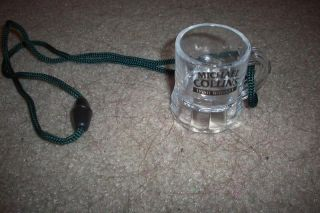 Michael Collins Irish Whiskey Shot Glass Necklace