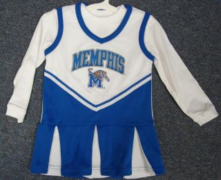 Memphis Tigers Super Cute Cheerleader Toddler Outfit 3T