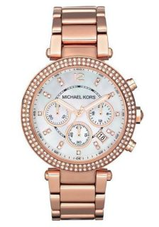 New Michael Kors Quartz Rose Gold Bracelet Womens Watch MK5491